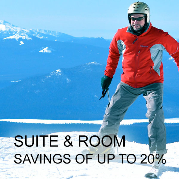 Suite & Room Savings of up to 20%